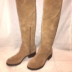 Lucky Brand boots suede size 9.5